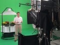 Filming on green screen with Autocue