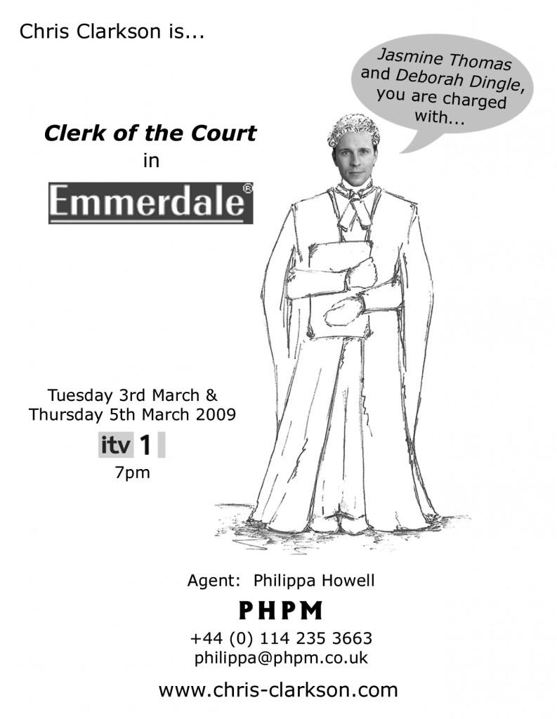emmerdale-clerk-card